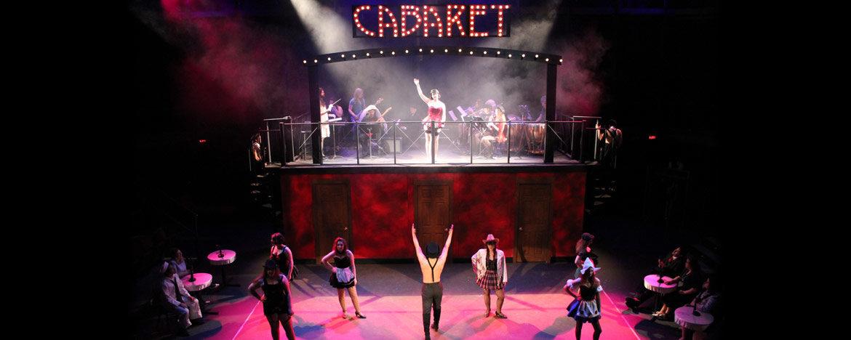 Central's theatre department performing Cabaret