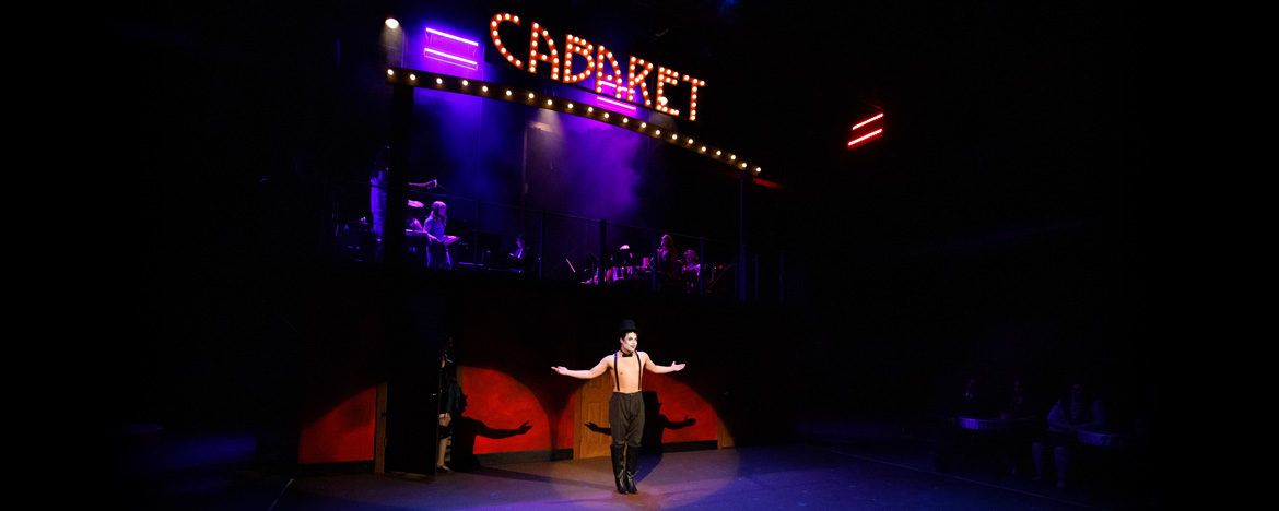 Scene from Theatre Central's production of Cabaret