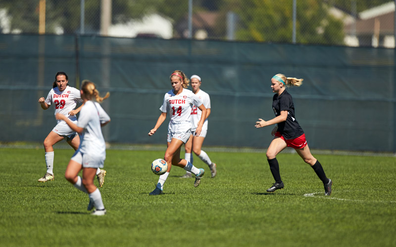 Central College Women's Soccer photo