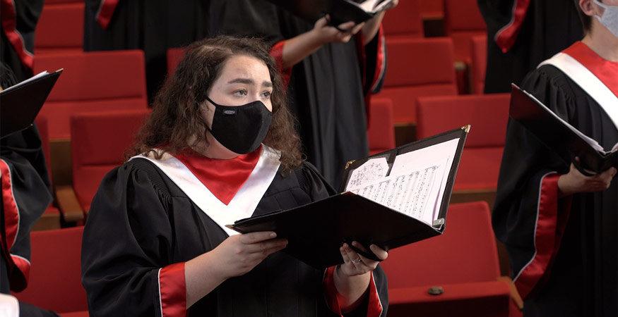 Central College choir performance