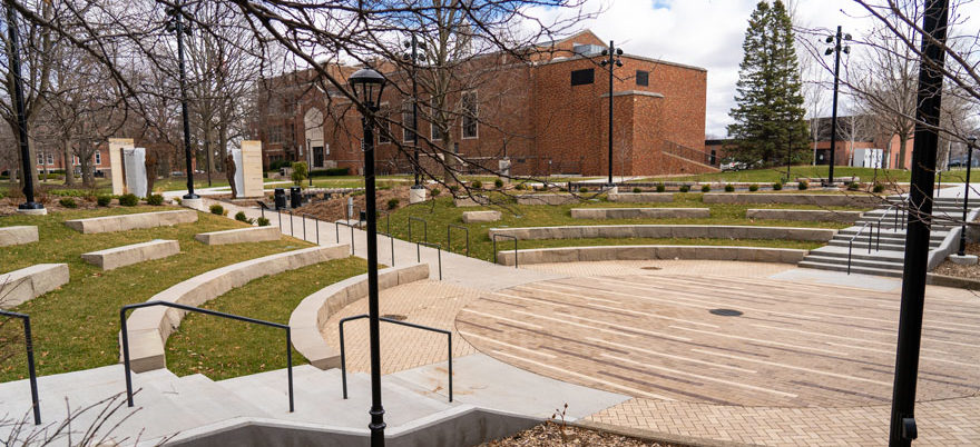 Peace Mall amphitheater