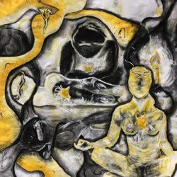 Jaden Culbertson, 4' x 4' mixed media